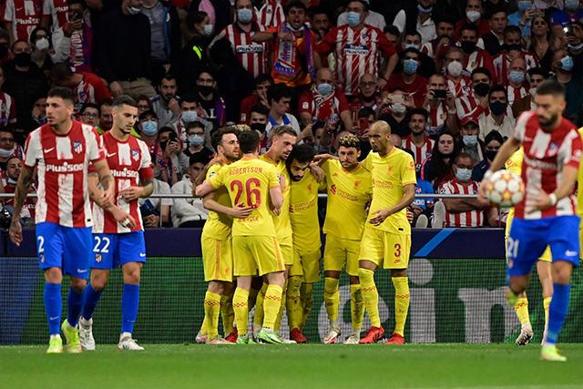 Liverpool vence 3-2 al Atlético en un partidazo
