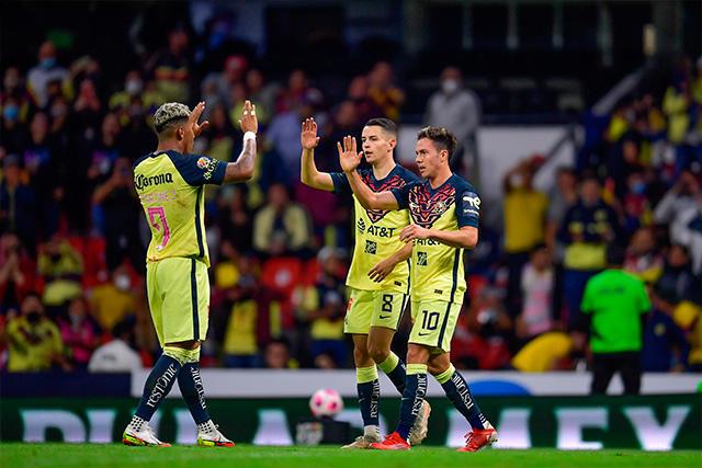 América venció 2-1 a Santos en la Jornada 14 del Grita México A21