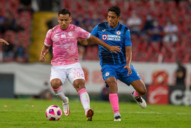 Atlas y Cruz Azul empatan sin goles en un juego trabado en el Jalisco