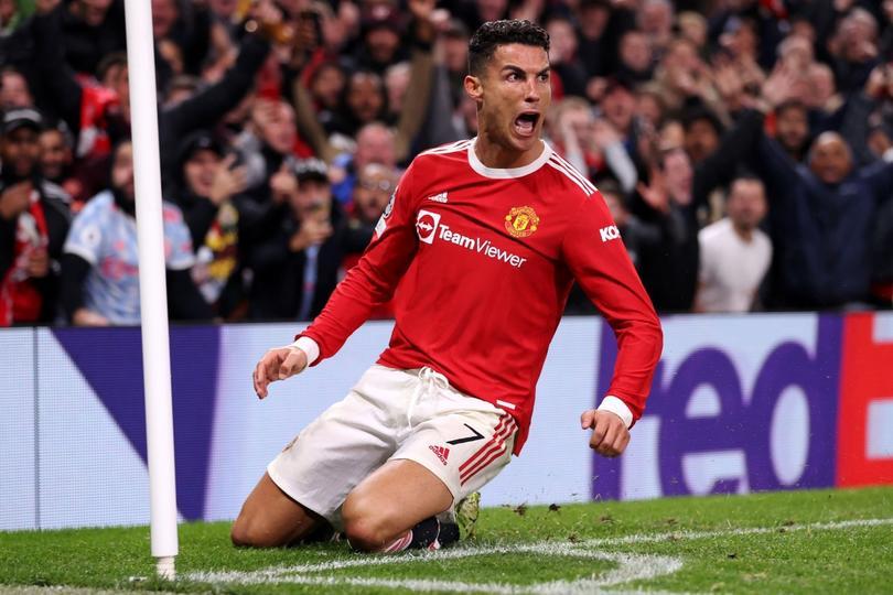 Gol de Cristiano para la victoria del United