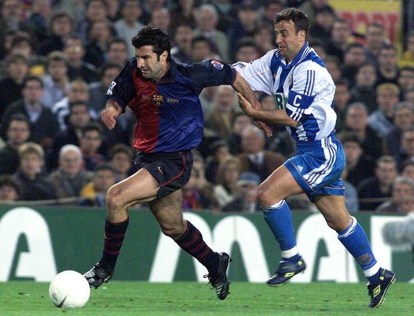 Jugadores que vistieron la del Barcelona y la del Madrid