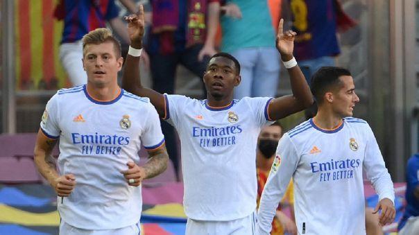 Alaba le dio la victoria de Real Madrid