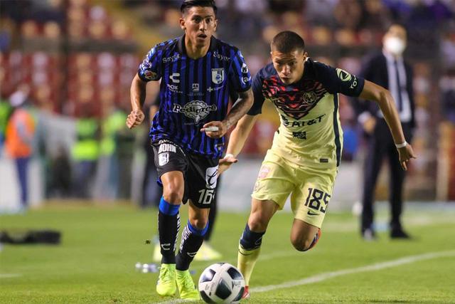 Karel Campos debutó esta temporada con el primer equipo del América