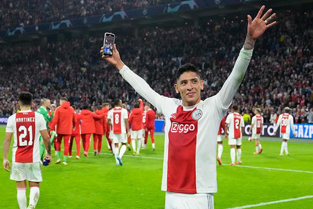 Edson Álvarez será jugador del Ajax hasta 2025