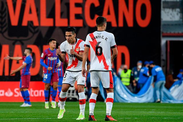 Rayo Vallecano vence 1-0 al Barcelona