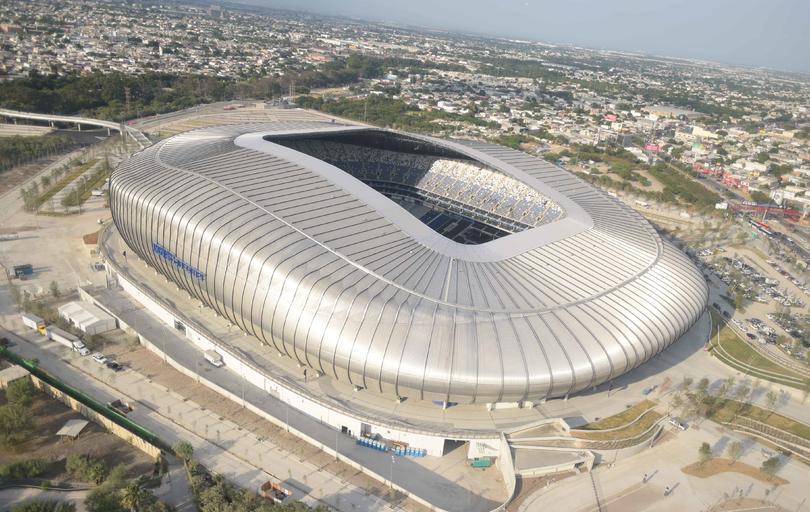 El estadio de Rayados podría ser sede para el mundial de 2026.