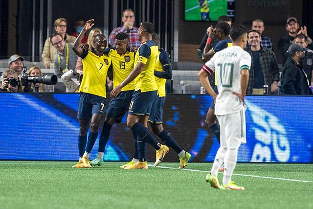 Ecuador venció 3-2 a México en amistoso