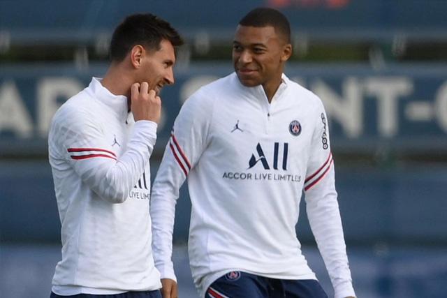Messi y Mbappé se ausentaron del entrenamiento con el PSG