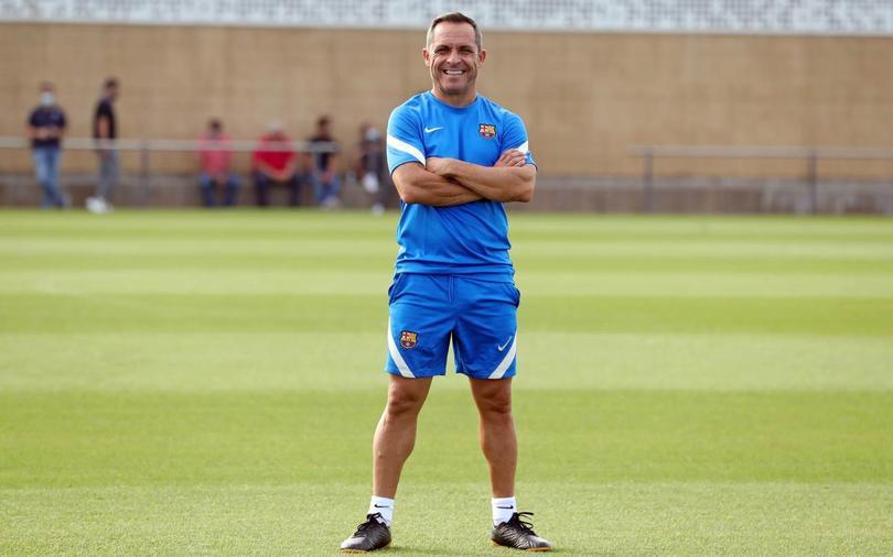 Barjuan se hará cargo del equipo blaugrana en lo que designan al entrenador